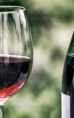 wine, retro, wine glass